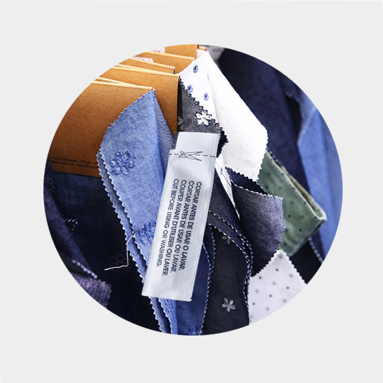 Shop Labels 58kHz EAS Am Soft Label for Clothes  label in woven pocket